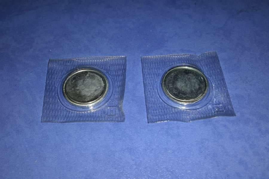 Магниты для верхней одежды D 2 см в упаковке