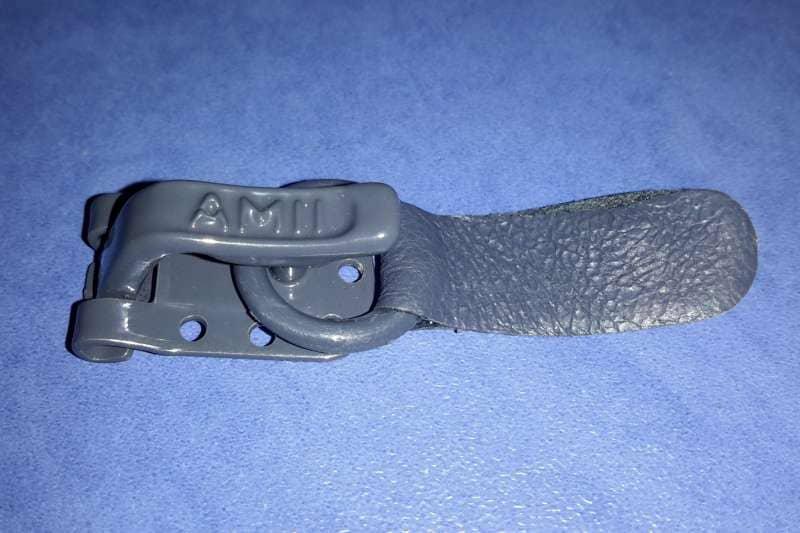 Шубный крючок Серый графит AMII (Польша)