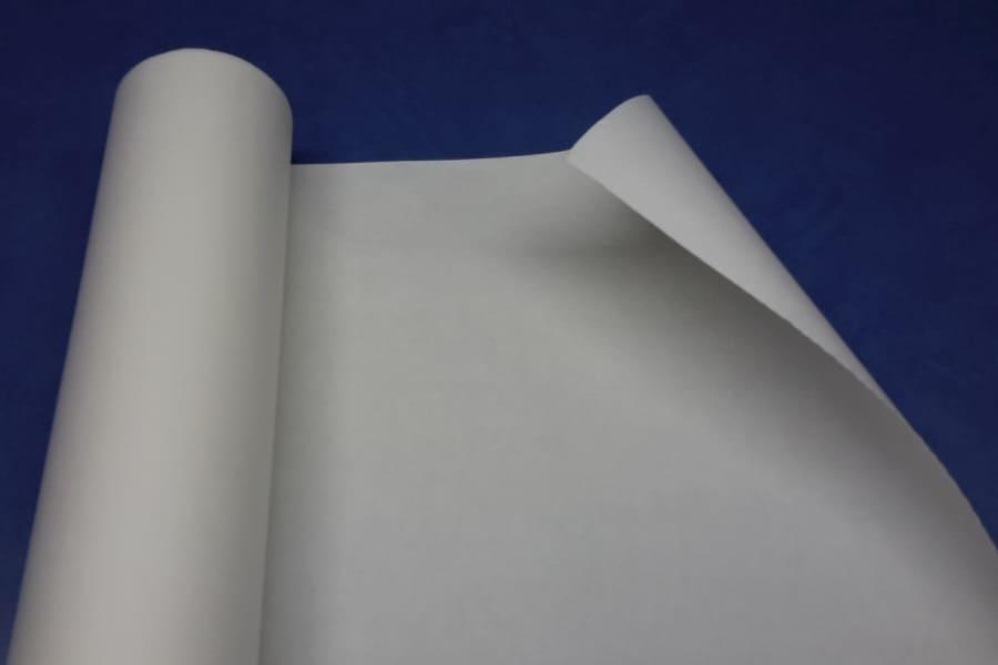 Белая клеевая ткань  для ремонта меховых и кожаных изделий