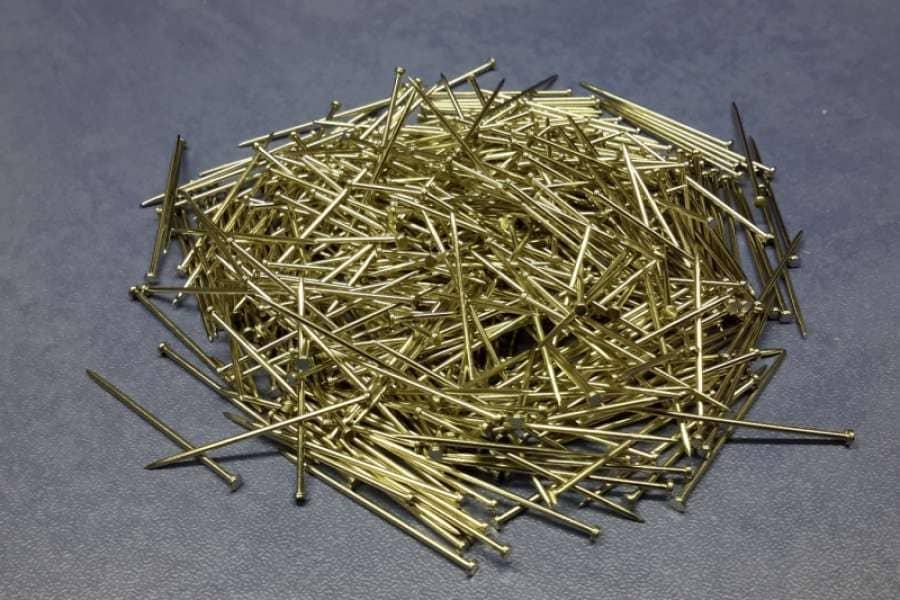 Колки (гвоздики) металлические скорняжные 1,05*35 мм на вес