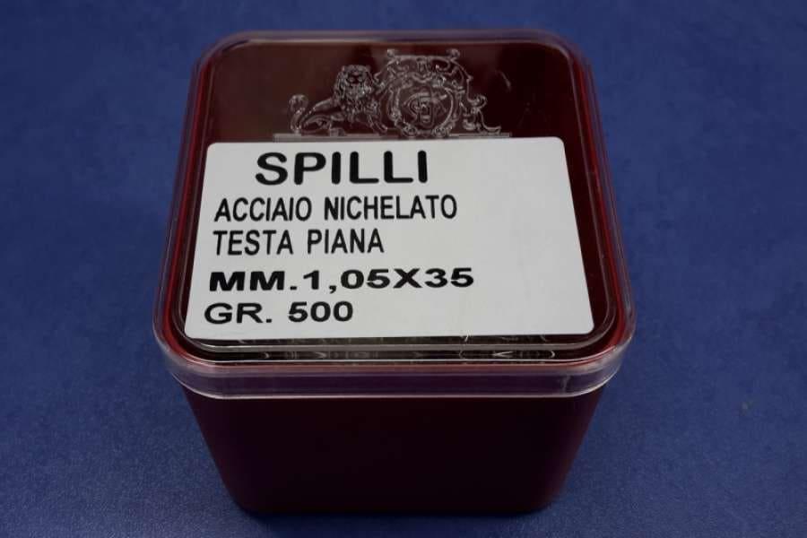 Колки (гвоздики) металлические скорняжные 1,05*35 мм в упаковке