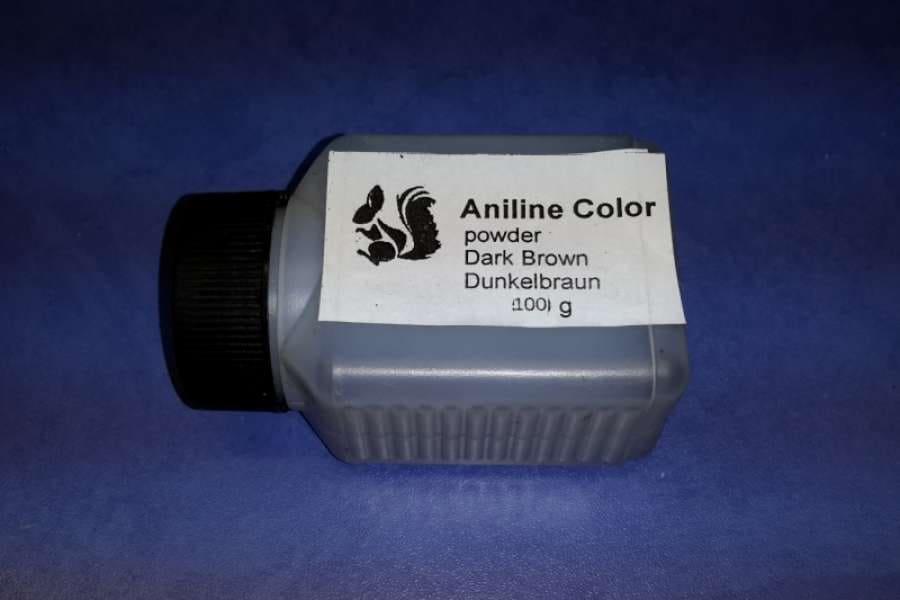 Темно-коричневый краситель анилиновый