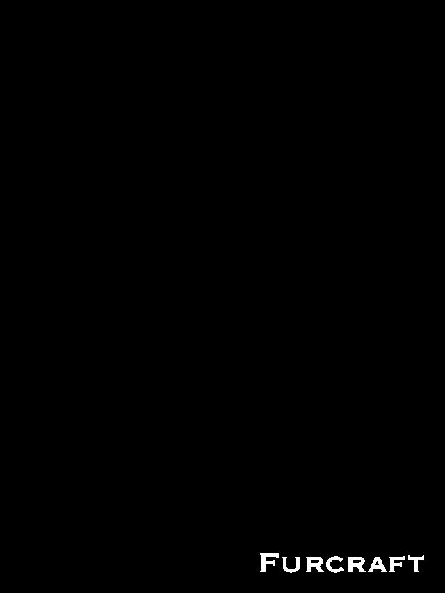 Воротник съемный из лисы огневки (одна шкурка), перфорация