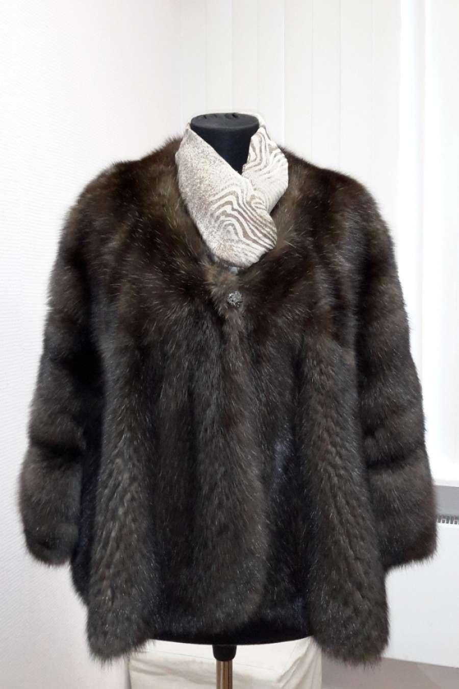 Куртка из соболя (перфорация)