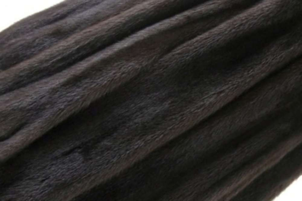Шубный набор из норки махогон, самцы (рабочая длина шкурок 64-68 см)