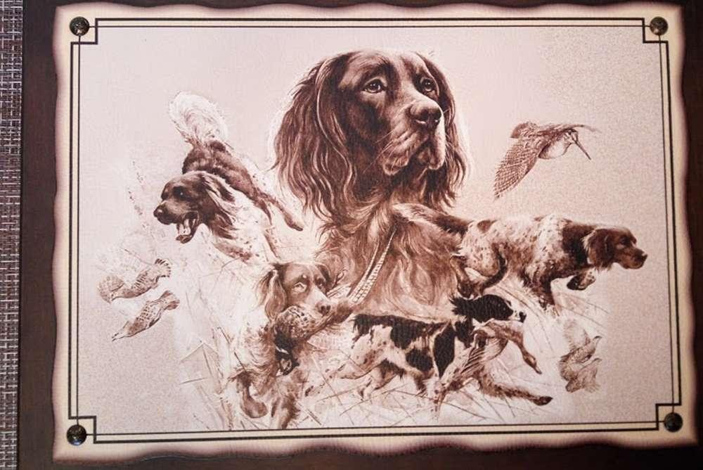 №8 Плакетка Охотничьи собаки