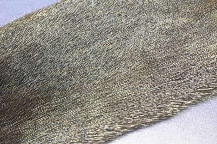 Норка с металлизацией Коричневая норка с напылением мультиколор