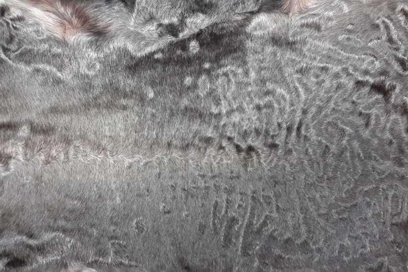 Каракуль коричневый (сур) гладкий