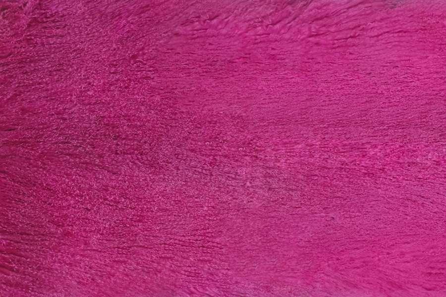Меховые пластины лама цвет фуксия