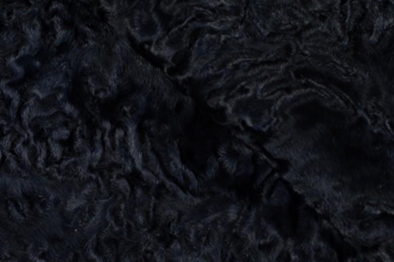 Каракуль, цвет Глубоководный синий