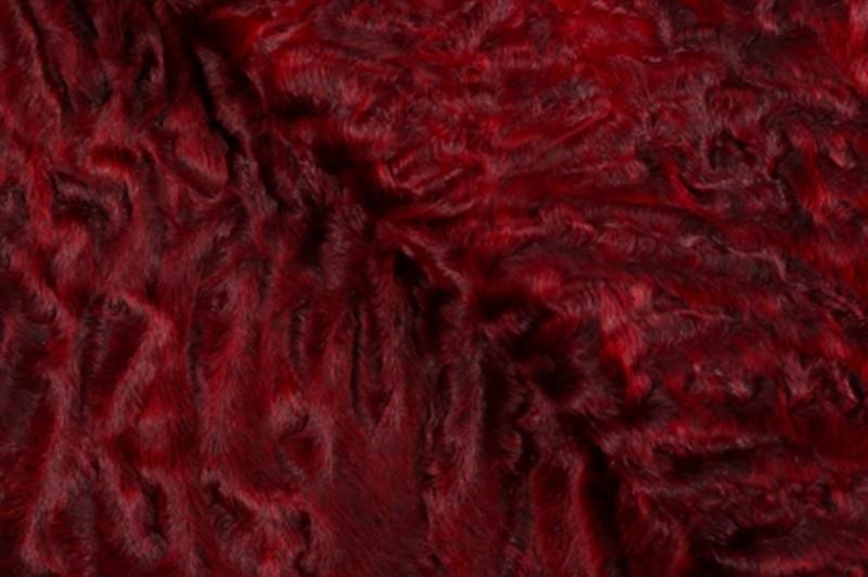 Каракуль, цвет Гранат