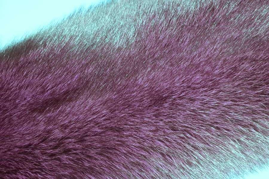 Песец крашеный Песец, цвет серебристый бордо