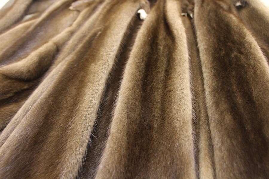 Норка натуральная Коричневая норка (сканбраун/scanbrown)