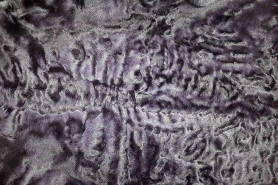 Каракуль крашеный Каракуль цвет баклажан