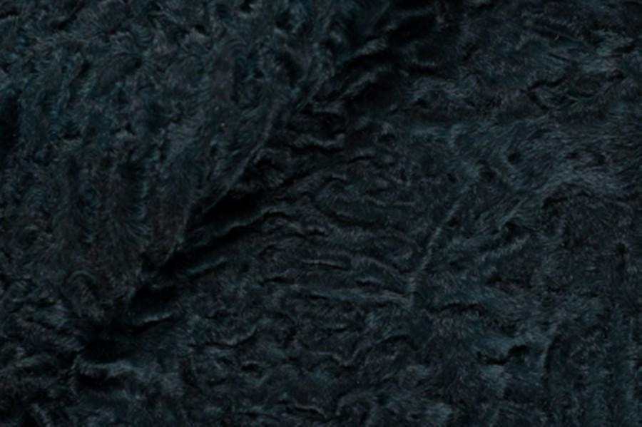 Каракуль крашенный в темно-зеленый цвет
