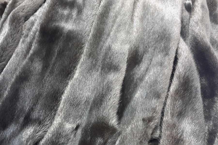 Норка натуральная Черная норка сканблэк вельвет (scanblack velvet)