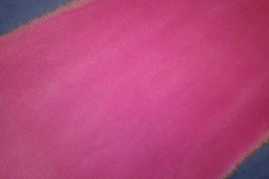 Норка стриженая цвет розовая фуксия